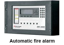 Automatic-fire-alarm